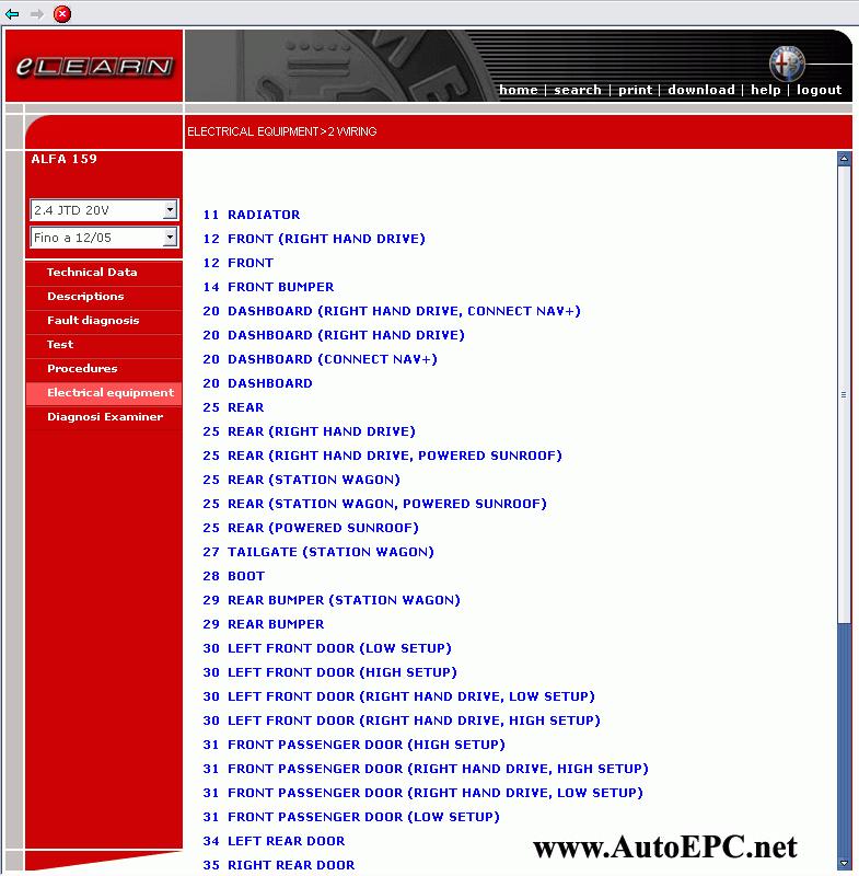 Alfa Romeo 164 Repair Manual Order  U0026 Download