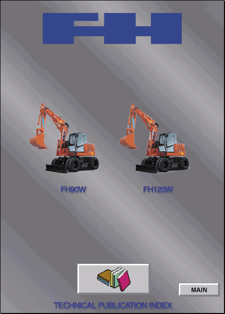 Fiat Hitachi Excavators FH series Service Manual repair