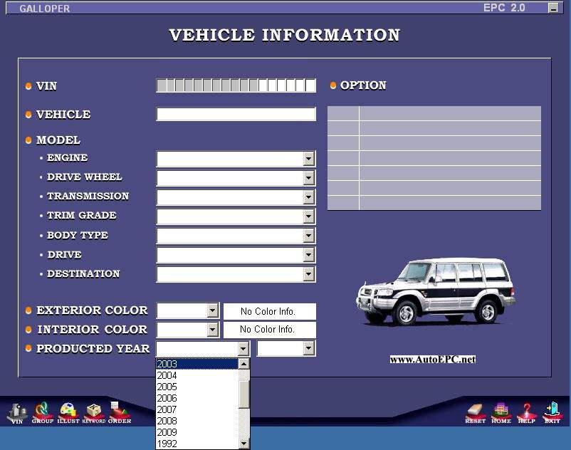 Hyundai Galloper  Santamo  Innovation Parts Catalog Order  U0026 Download