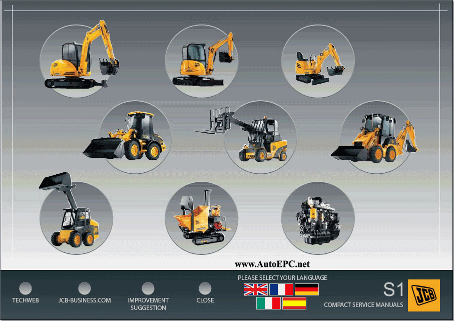 Jcb Service Manuals 2008 Full Set Repair Manual Order