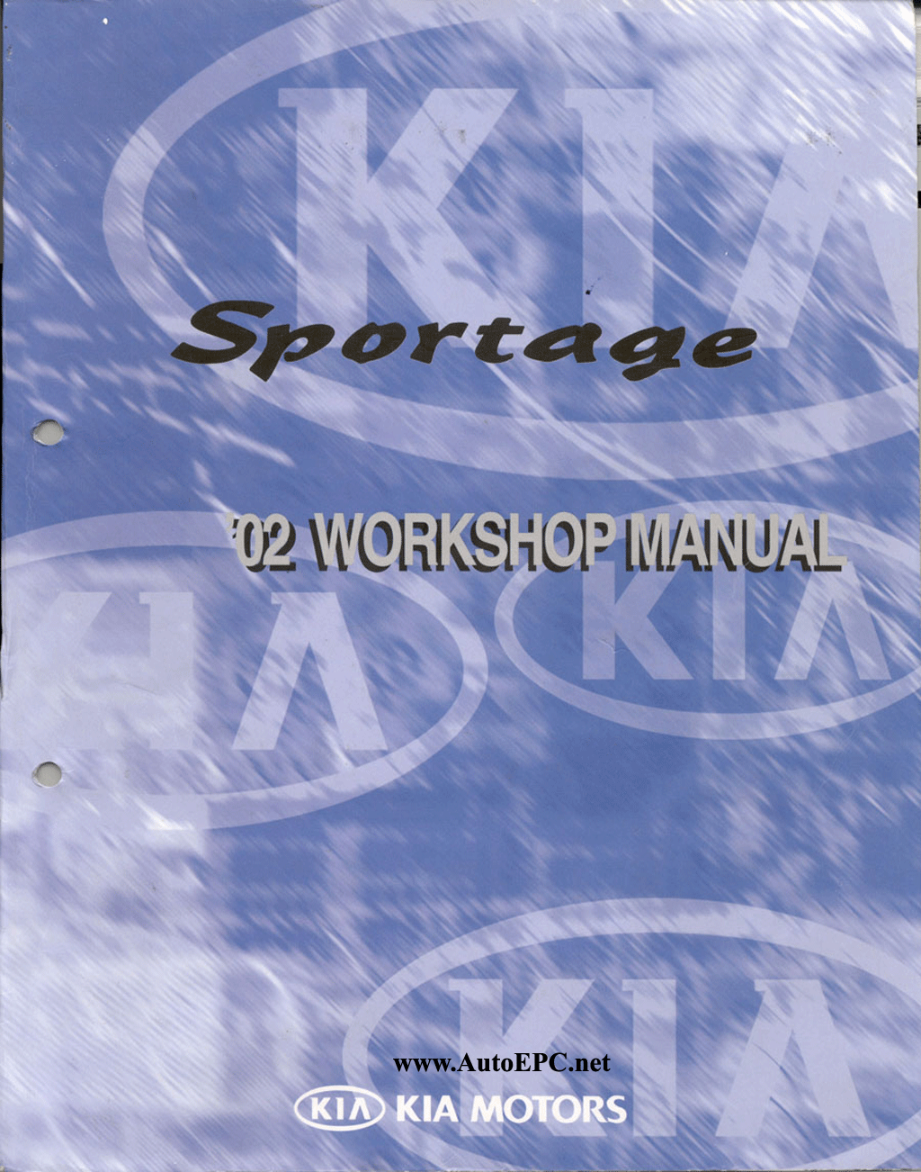 Kia Sportage Repair Manual Order  U0026 Download