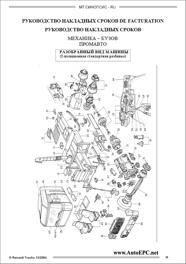 Renault Truck Service Manuals Repair Manual Order  U0026 Download