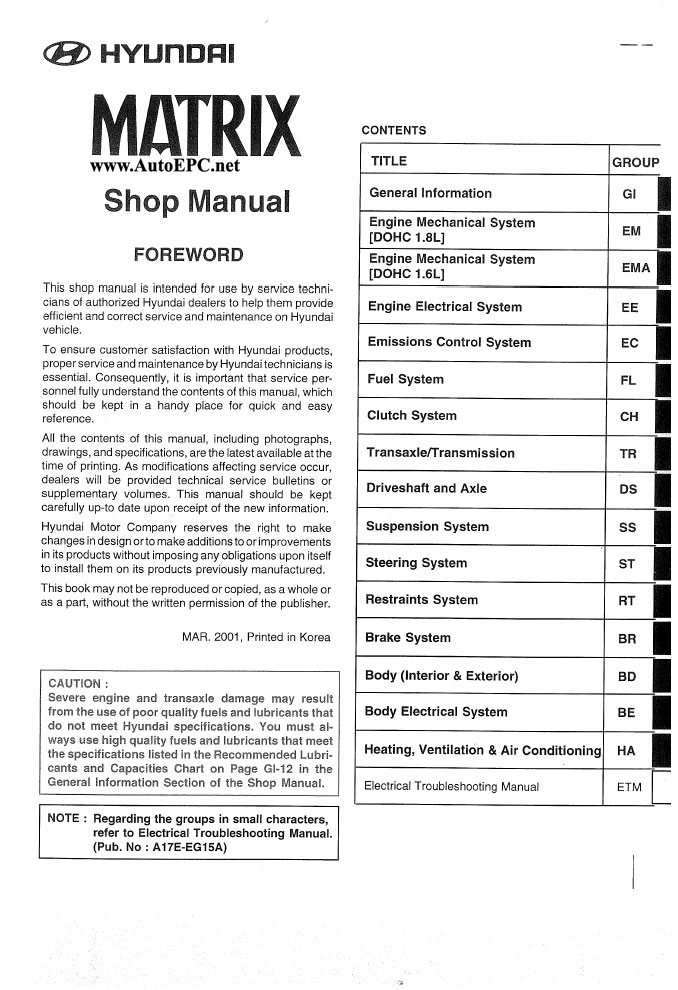 hyundai matrix repair manual order   download hyundai matrix service manual download hyundai matrix service manual pdf