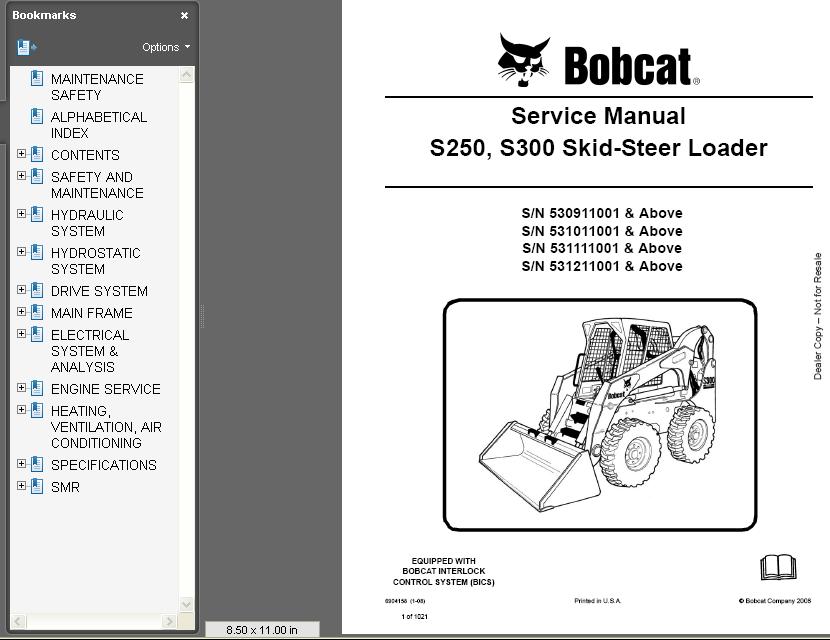Bobcat S250