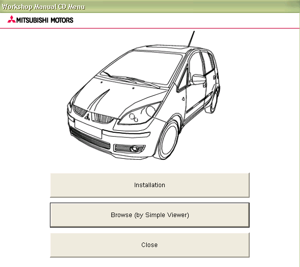 Mitsubishi colt workshop service manual repair