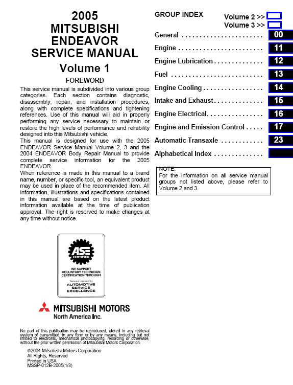 Reviews On 2004 Mitsubishi Endeavour