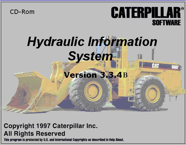 Caterpillar Hydraulic Information System 2004 repair manual Order