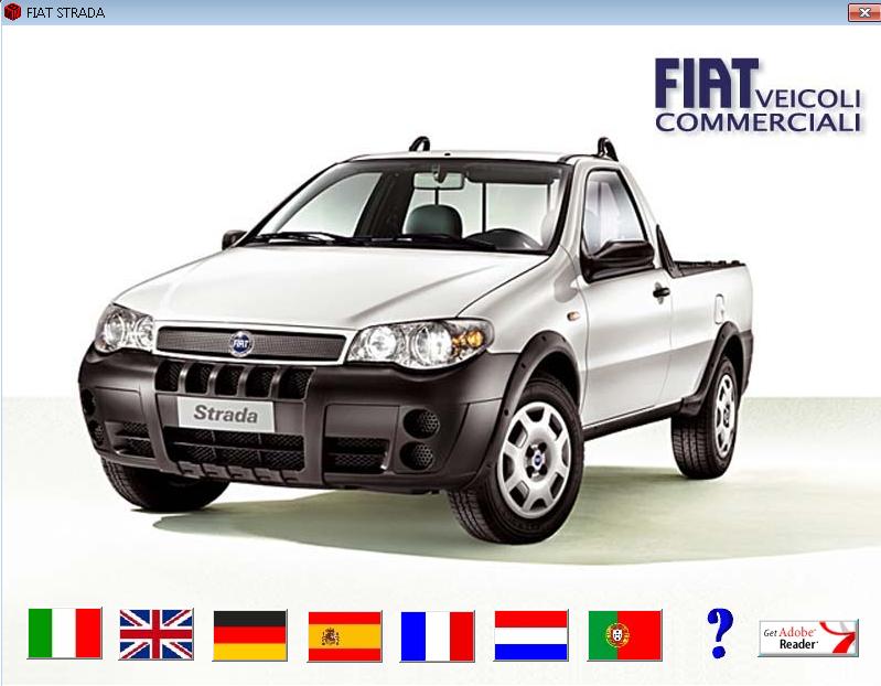 Fiat Strada Workshop Service Manual Repair Manual Order