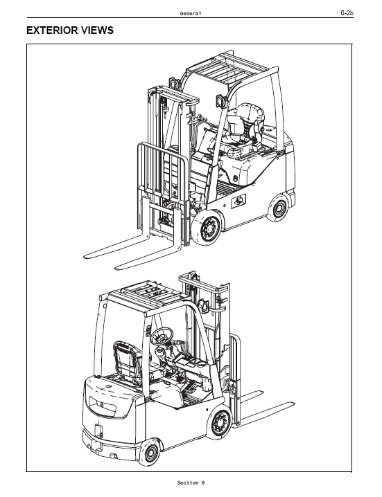 ... / Forklift Repair Manuals / Toyota Forklift Workshop Service Manual