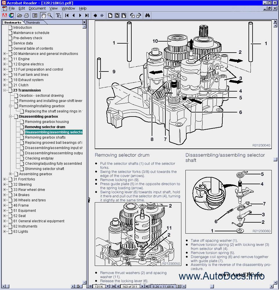 Bmw R1150gs  R1150r  Rt Repair Manual Order  U0026 Download
