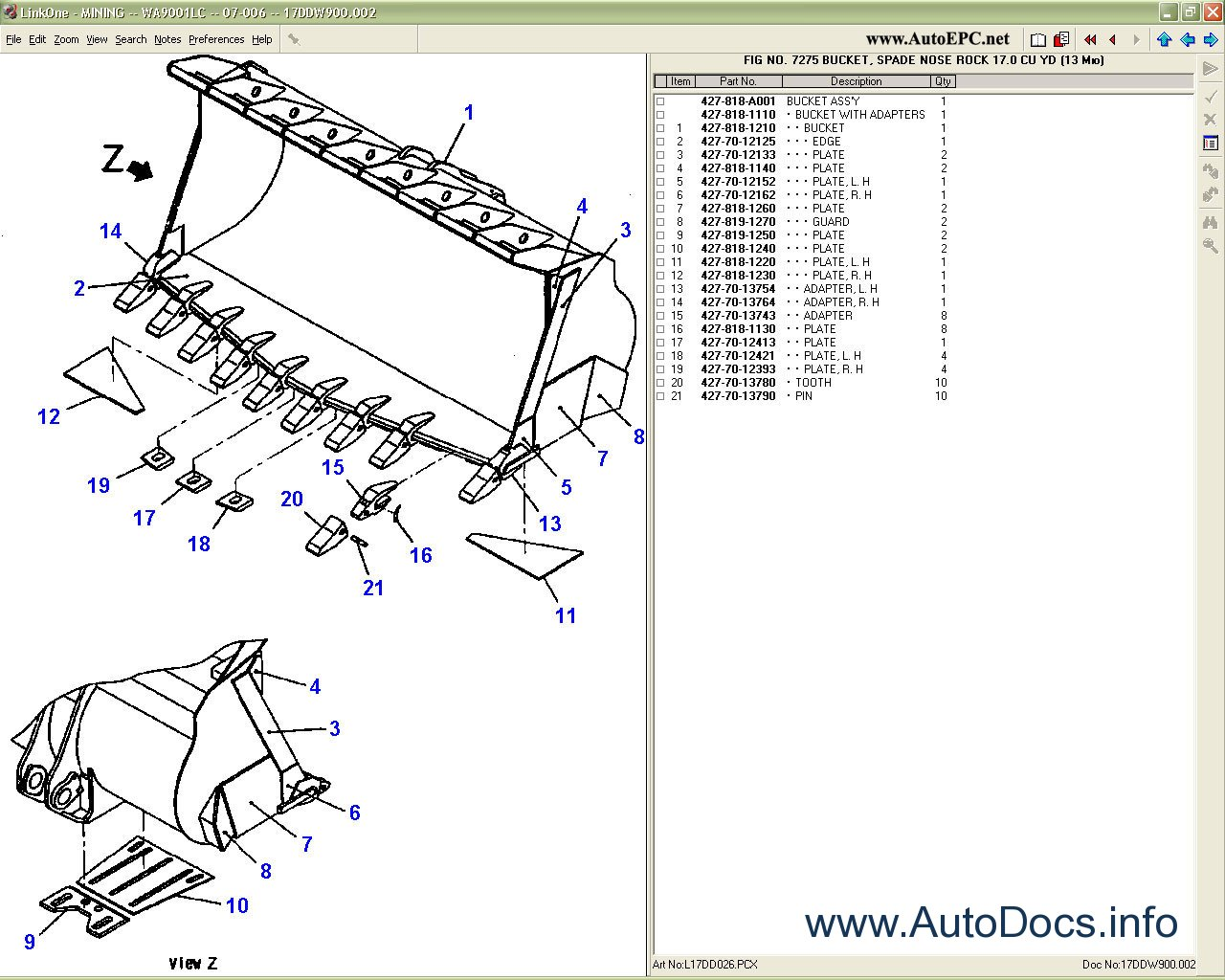 Komatsu Mining Equipment Order  U0026 Download