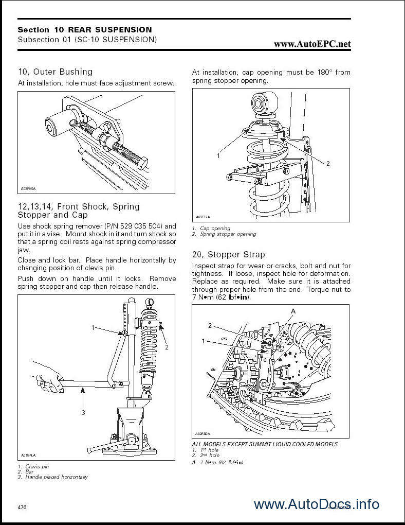 Skandic 600 torque specification guide