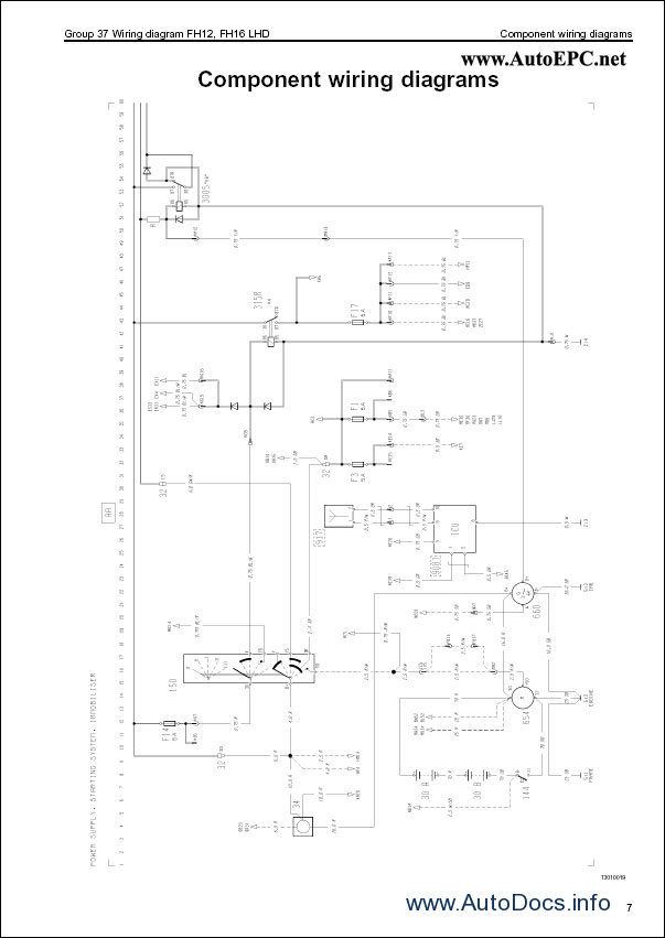 Wiring Diagram Volvo Fh16 : Volvo fh wiring diagram repair manual order download