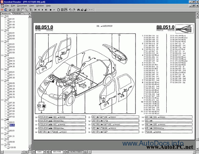 Bumper Cars For Sale >> Renault OLD parts catalog Order & Download