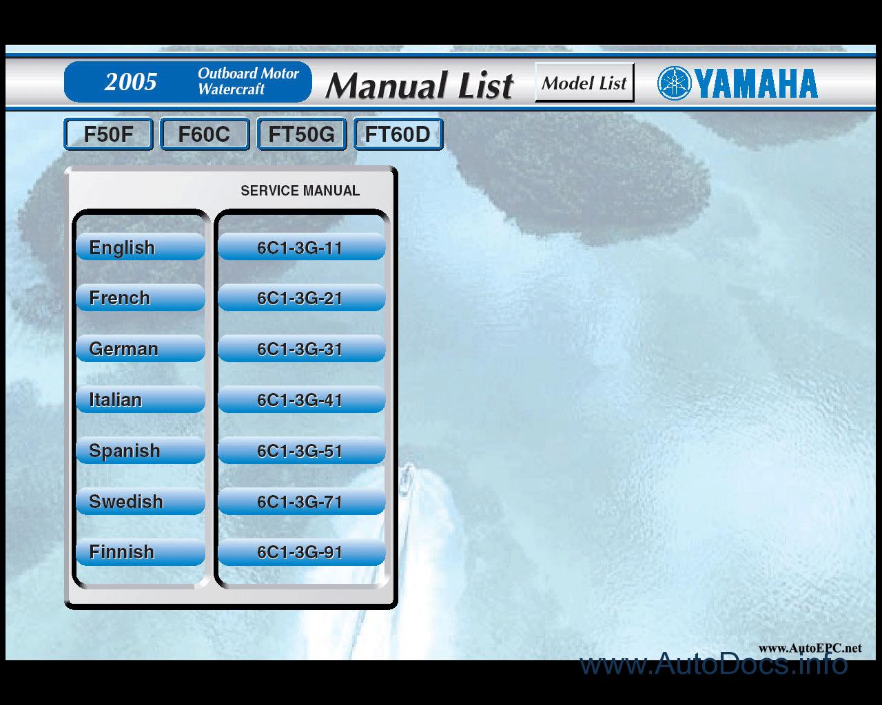 yamaha outboard motors watercraft jetski repair manual. Black Bedroom Furniture Sets. Home Design Ideas