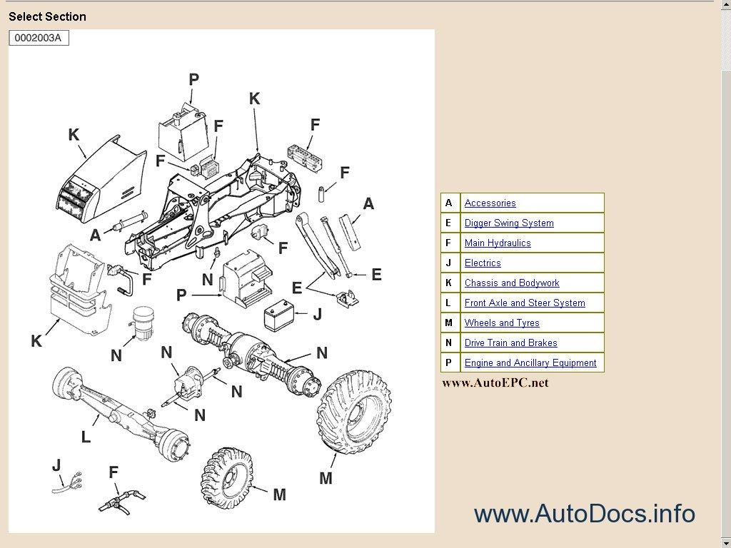 Fermec Terex Bachoe Loader Parts Manual Parts Catalog Order  U0026 Download