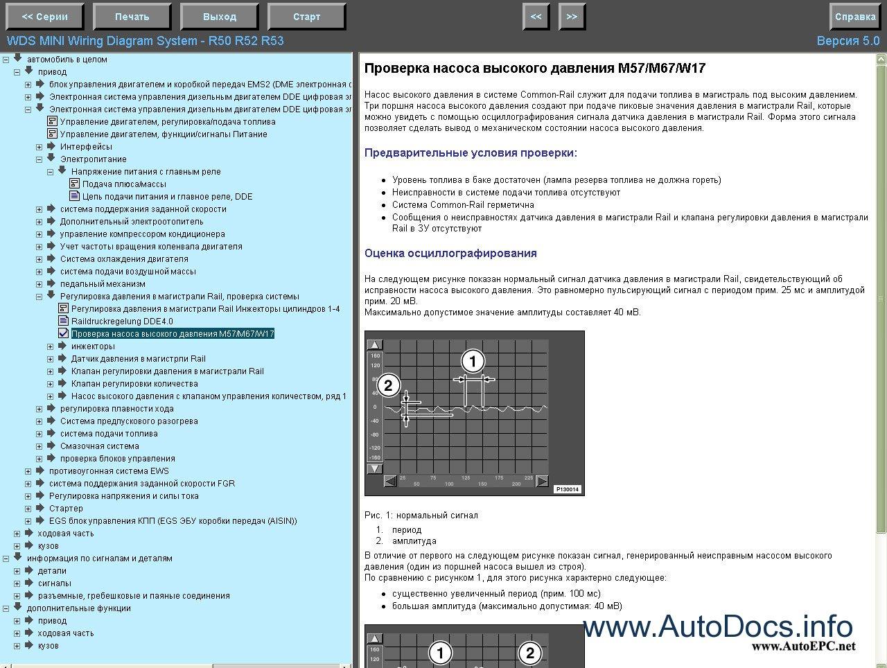 Bmw Mini Wds 5 0 Repair Manual Order  U0026 Download