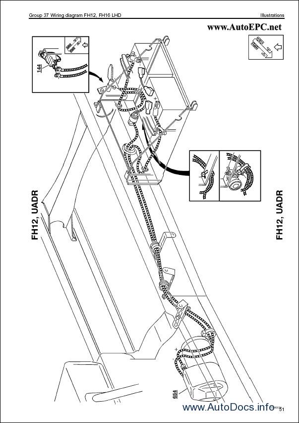 volvo fh12  fh16 wiring diagram repair manual order  u0026 download