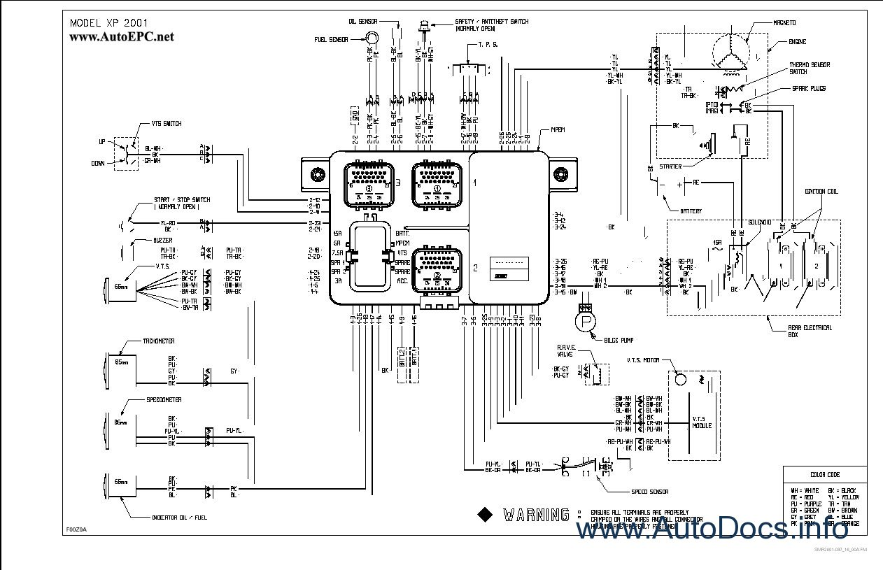 Sea Doo Wiring Harness | New Wiring Diagram 2018