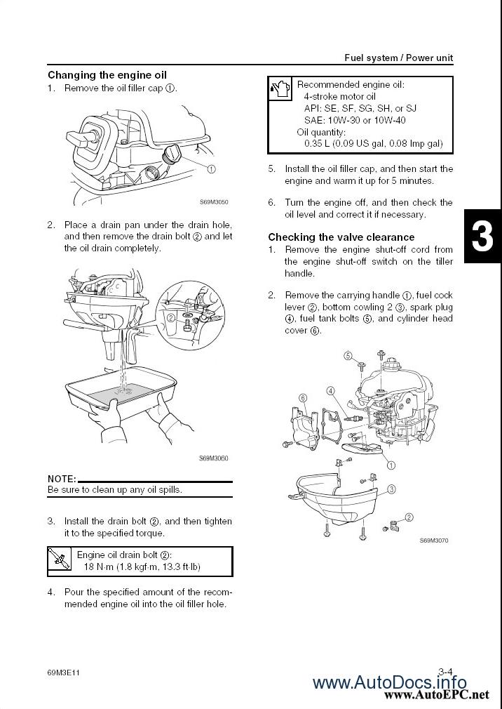 Yamaha Outboard Motors & Watercraft (JetSki) Repair Manual 2003-2004