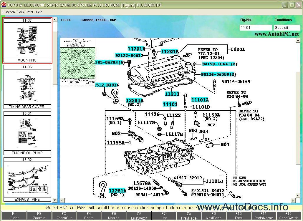 Toyota & Lexus Japan EPC 2010 parts catalog Order & Download
