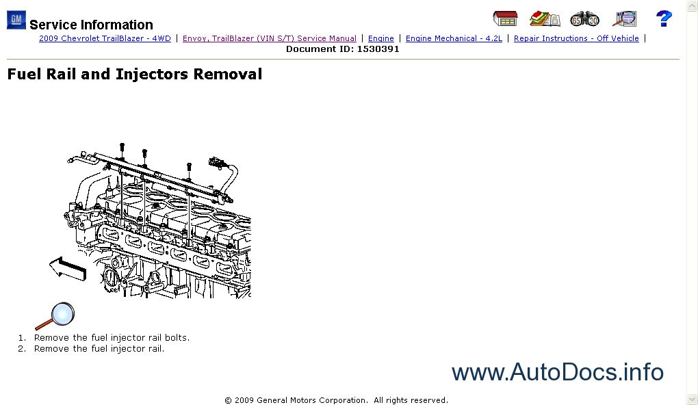 General Motors Service Information 2010 Repair Manual
