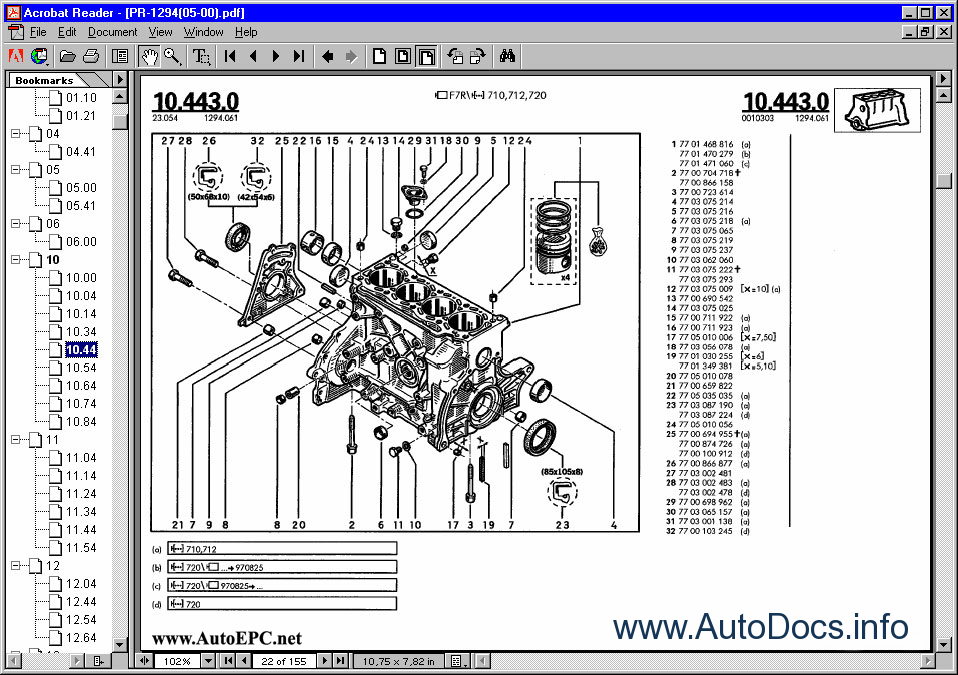 renault old parts catalog order  u0026 download