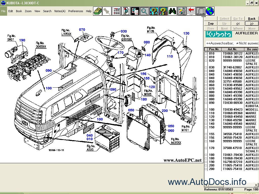 Kubota Parts Catalog Parts Catalog Order  U0026 Download