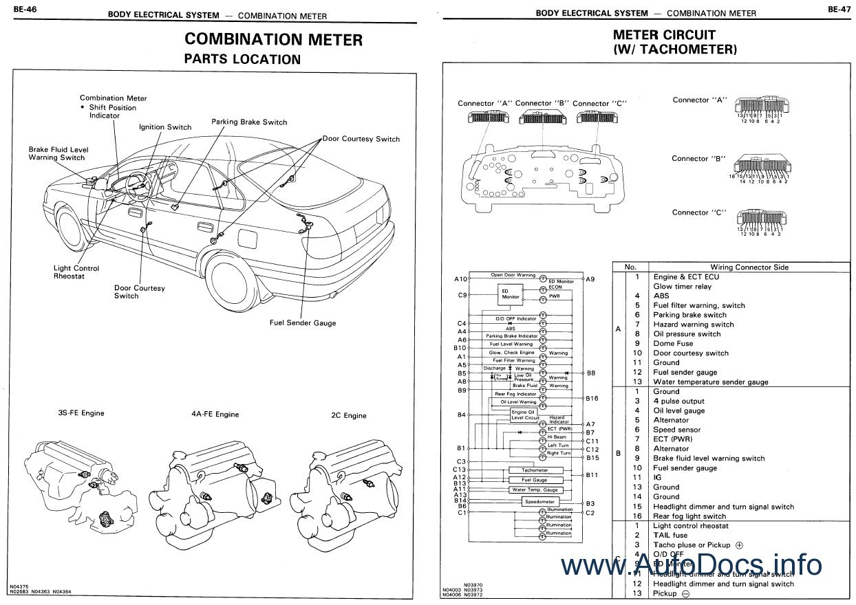 Toyota Land Cruiser Prado Wiring Diagram Repair Manual Order Download
