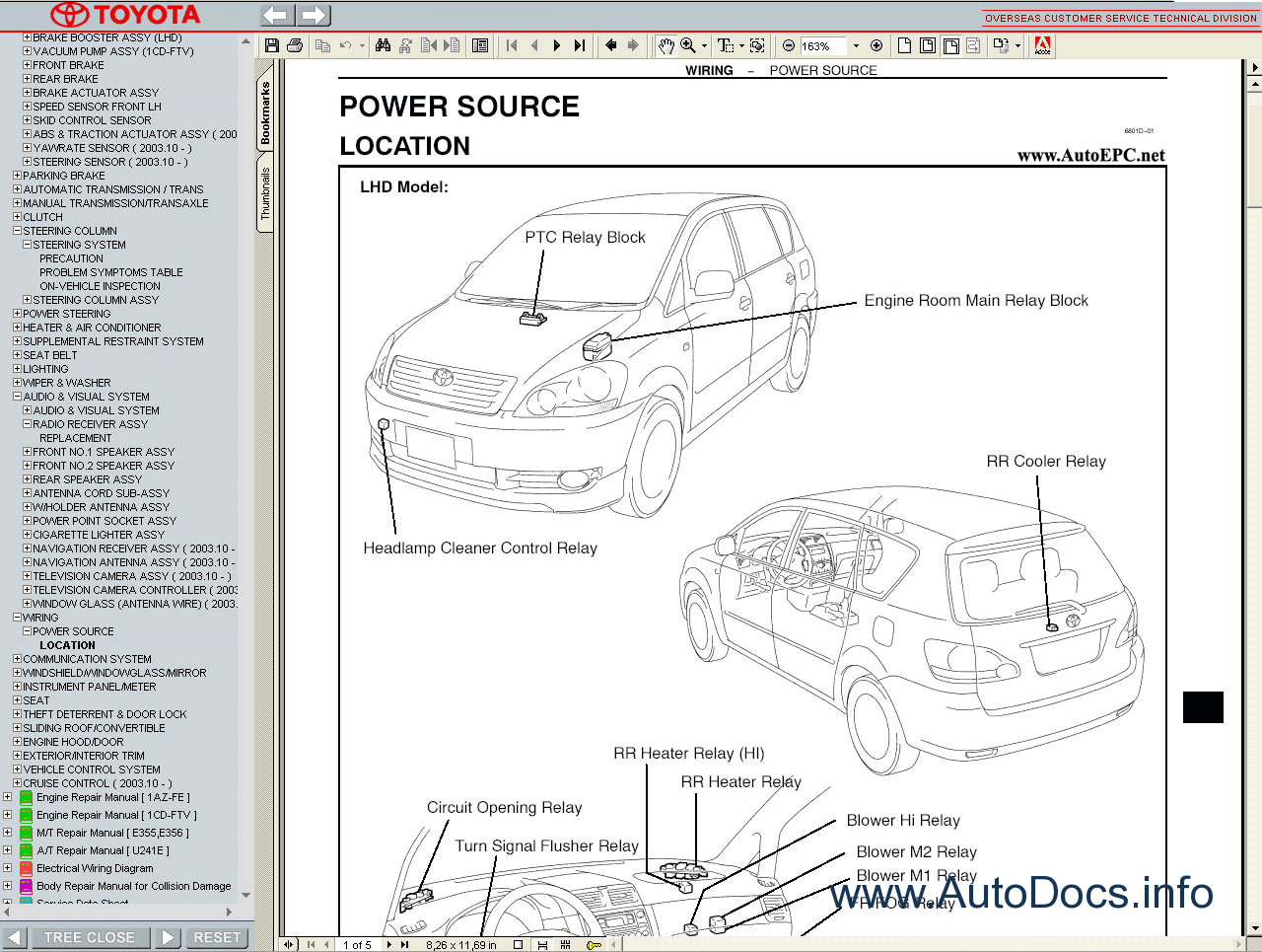 toyota electrical wiring diagram also yaris 2003 toyota
