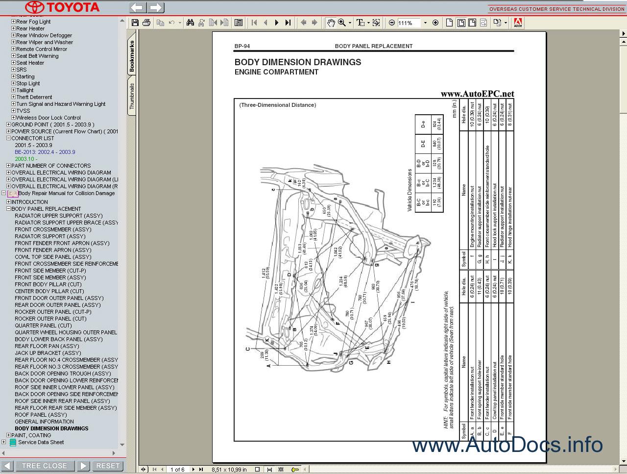 Electrical Wiring Diagram Toyota Avensis : Electrical wiring diagrams toyota avensis repair manual