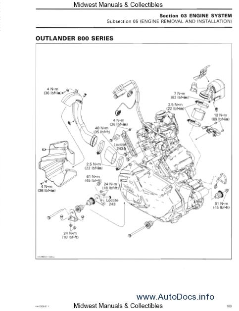 bombardier can am outlander 2006 repair manual order. Black Bedroom Furniture Sets. Home Design Ideas