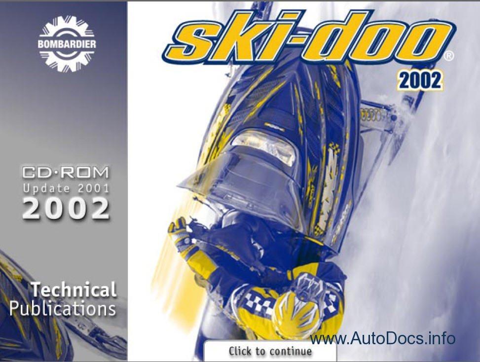 bombardier ski doo 1996 2002 parts catalog repair manual Flat Rate Padded Envelope USPS Flat Rate