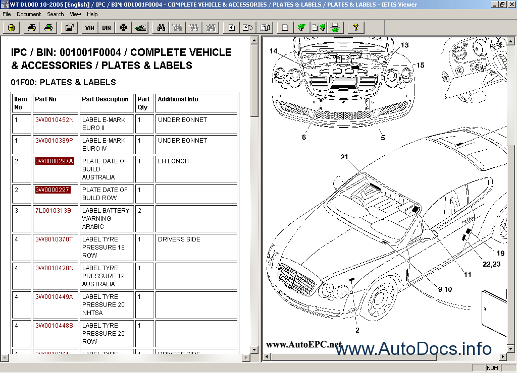 Bentley Continental Spare Parts Catalog  Workshop Service