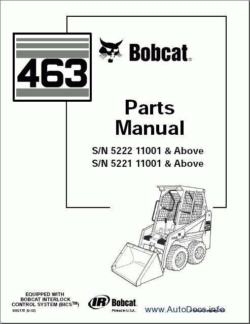 similiar bobcat 753 parts list keywords forklift lift trucks parts catalogs bobcat loaders parts manuals