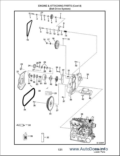 bobcat s130 mini loader parts catalog repair manual order