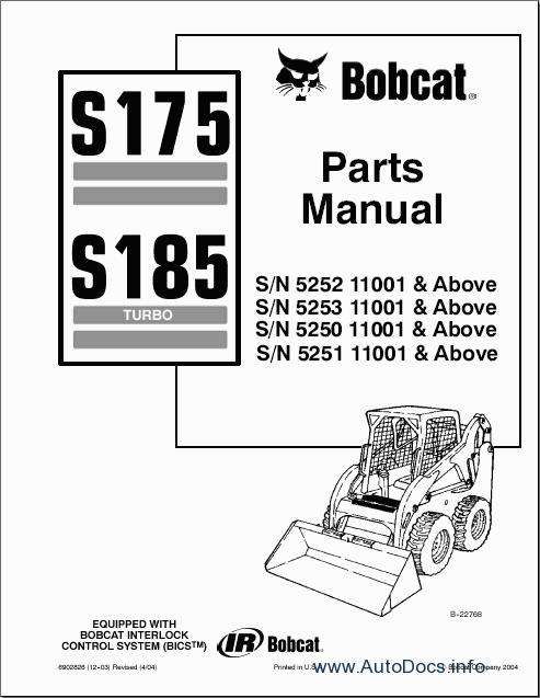 bobcat 753 parts breakdown