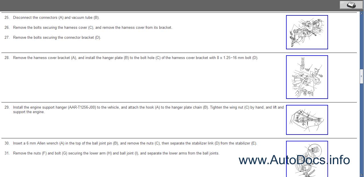 Honda CR-V 2007-2008 Service Manual repair manual Order & Download