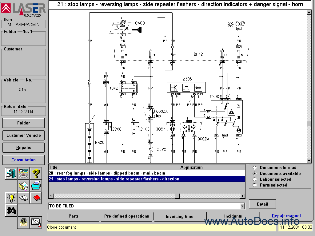 Citroen Parts And Repair 2006 Parts Catalog Repair Manual Order  U0026 Download
