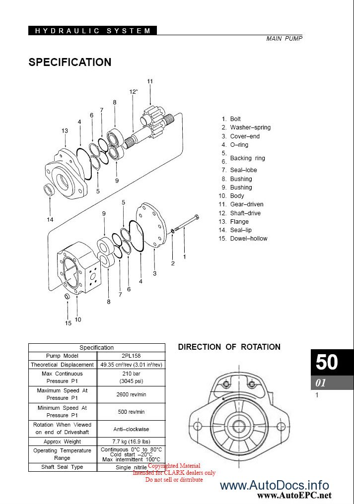 clark forklift truck parts pro 2010 parts catalog repair manual order  u0026 download