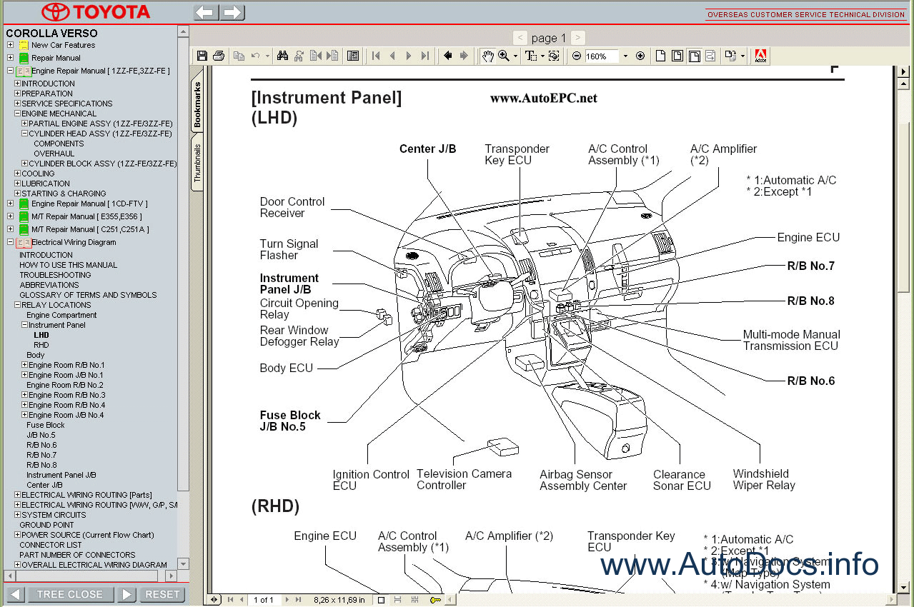 Toyota    1 8 Engine    Diagram     Circuit    Diagram    Maker