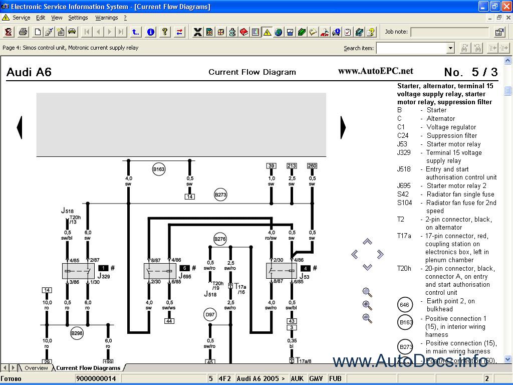 basic car electrical diagram audi elsa 3 9 dealer service manual repair manual