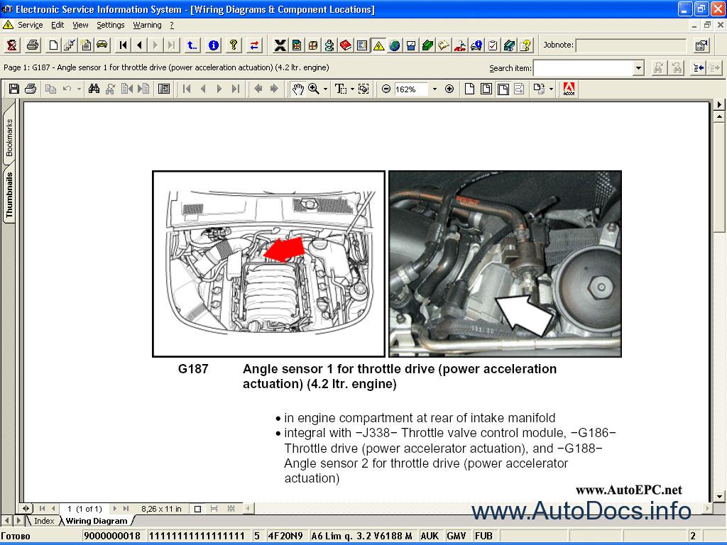 Audi Volkswagen Skoda Seat Elsa 3 9 Repair Manual Order