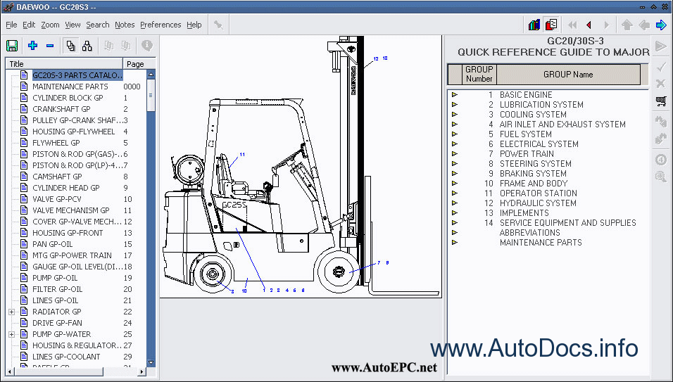 wiring komatsu schematics fork lift fb13m fork lift diagram daewoo forklift electronic spare parts catalogue contains