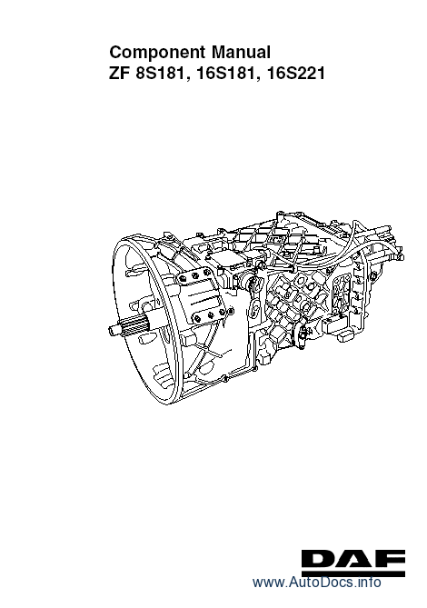 Daf Workshop service manual parts catalog repair manual