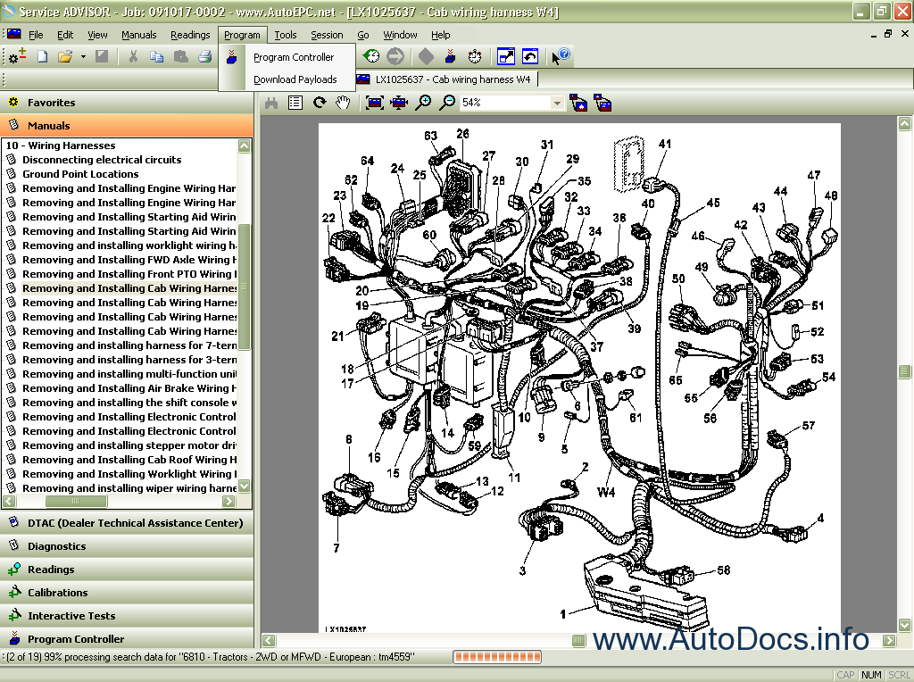 agricultural tractor wiring diagrams john deere service advisor    agriculture    2010 workshop  john deere service advisor    agriculture    2010 workshop