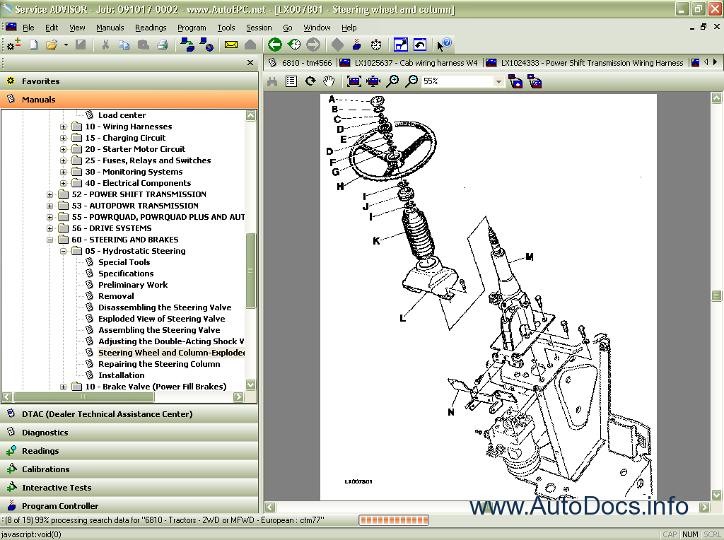 john deere service advisor ag 4 0 2012 repair manual order & download John Deere Lawn Mower Wiring Diagram john deere 4055 wiring schematic