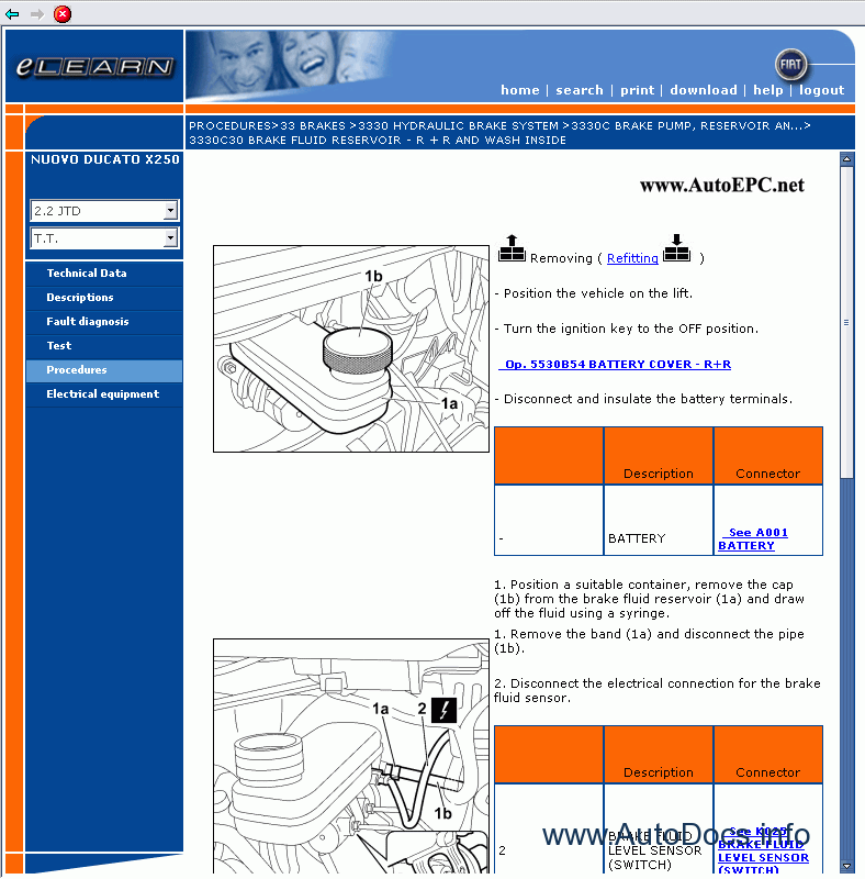 Fiat Ducato X250 Service Manual Repair Manual Order  U0026 Download