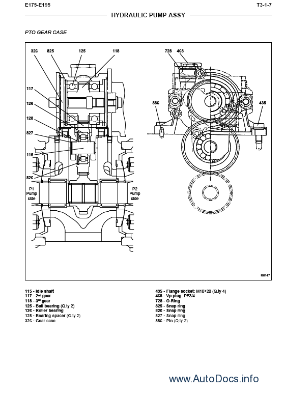 New Holland E195 Crawler Excavator Service Manual Repair