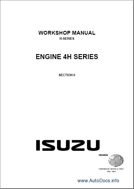 Isuzu Elf  N Series  Repair Manual Order  U0026 Download